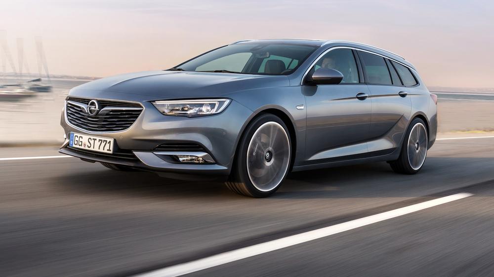 Opel представил 5-метровый универсал Insignia Sports Tourer