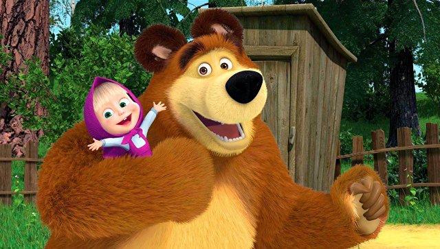 На Западе увидели политический сигнал от России в мультике «Маша и Медведь»