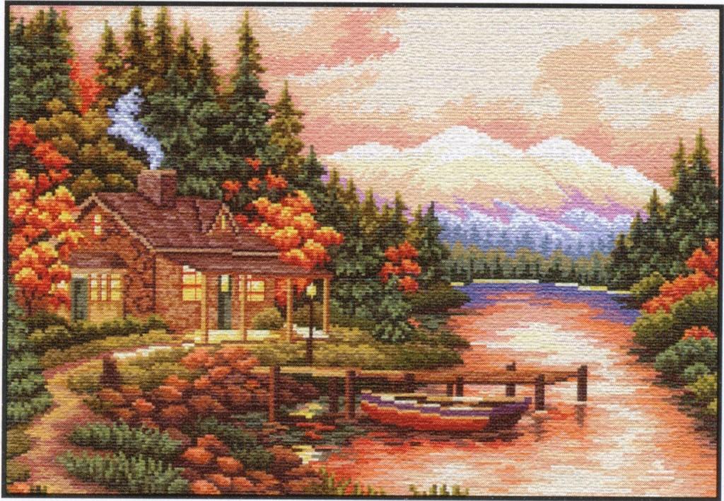7. СБ-088 Осенний пейзаж.