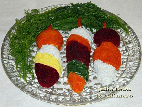 Новогодний мясной салат фото рецепт