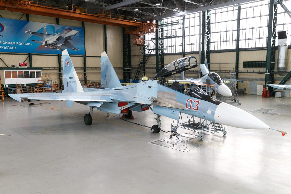 Модернизация истребителя Су-30СМ