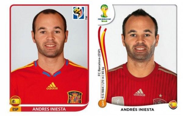 Знаменитые футболисты тогда и сейчас