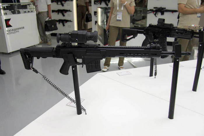 "На форуме ""Армия-2017"" представлена новая снайперская винтовка СВЧ"