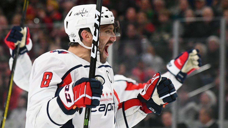 Овечкин занял пятое место в истории НХЛ по голам в большинстве