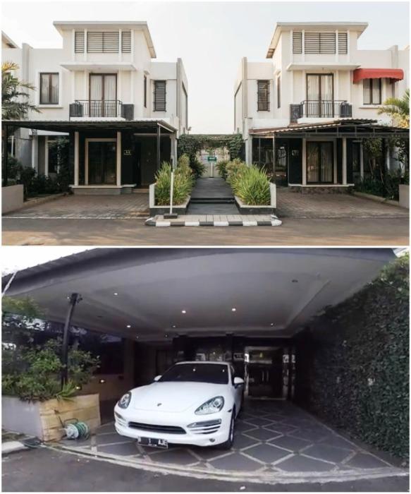 У каждого владельца коттеджа есть собственный крытый дворик (Cosmo Park, Джакарта). | Фото: break.com.