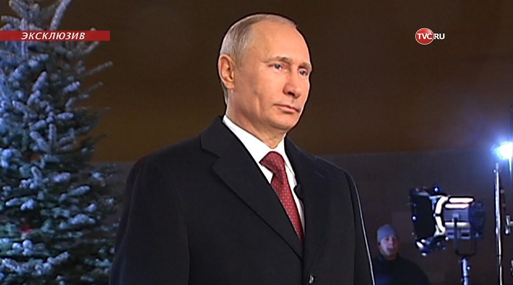 Новогоднее обращение Путина: что останется за кадром