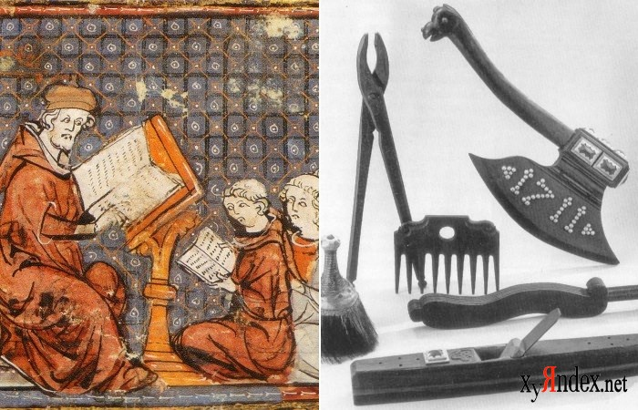 Непростая жизнь средневекового студента (7 фото+текст)