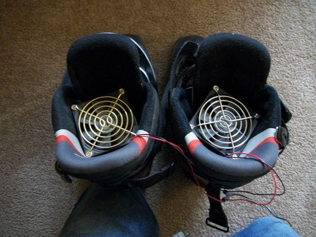 Простая сушилка для обуви своими руками