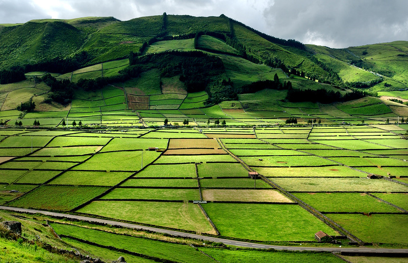 Азорские острова - места нетронутой природы! /// Обитаемый людьми Архипелаг.На одном из фото,я в образе Кота =)