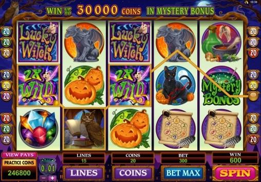 Игровой автомат «Удачливая ведьма»