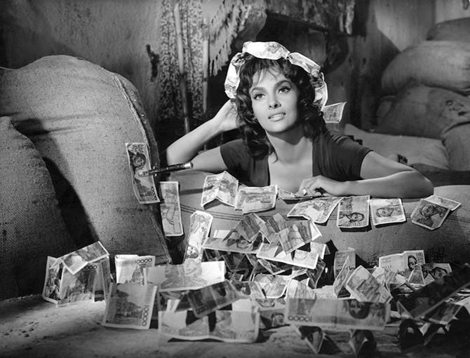 Итальянская актриса Джина Лоллобриджида 20 век, актрисы, кино