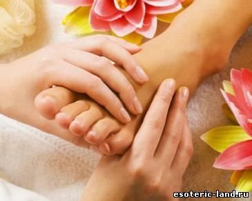 Массаж ног: ступни и пальцы, видео