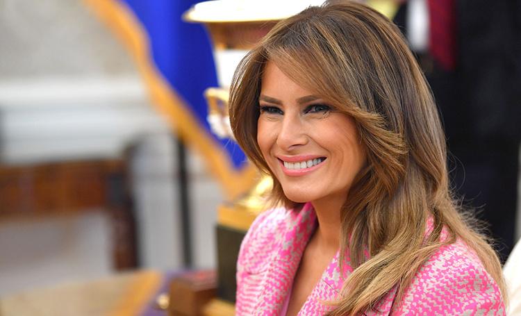 Barbie Girl: Мелания Трамп на встрече с президентом Колумбии в Белом доме