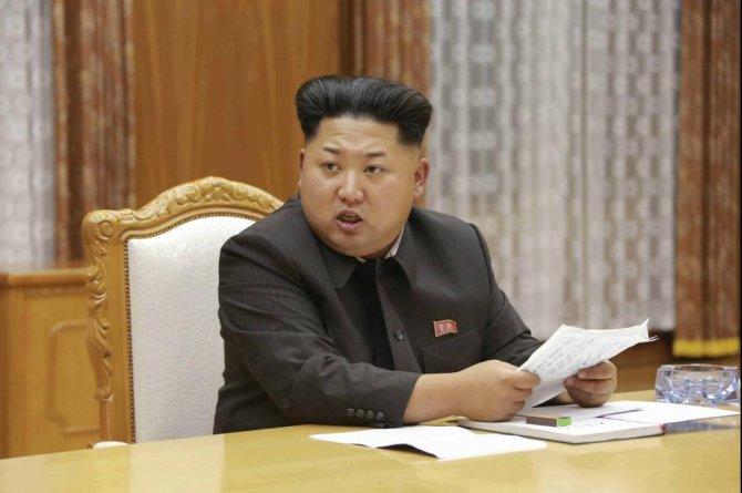 Ким Чен Ын направил Башару Асаду телеграмму