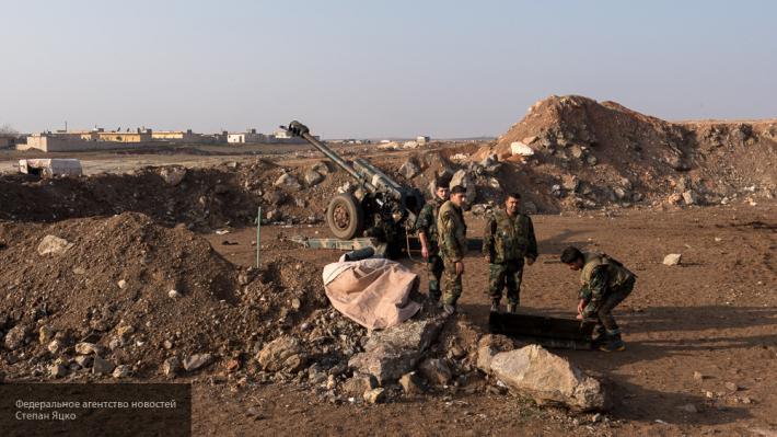 Сводка, Сирия: боевики обрушили на головы сирийских войск ракеты «Слон»