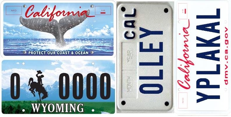 Красивые и именные номера на авто в США