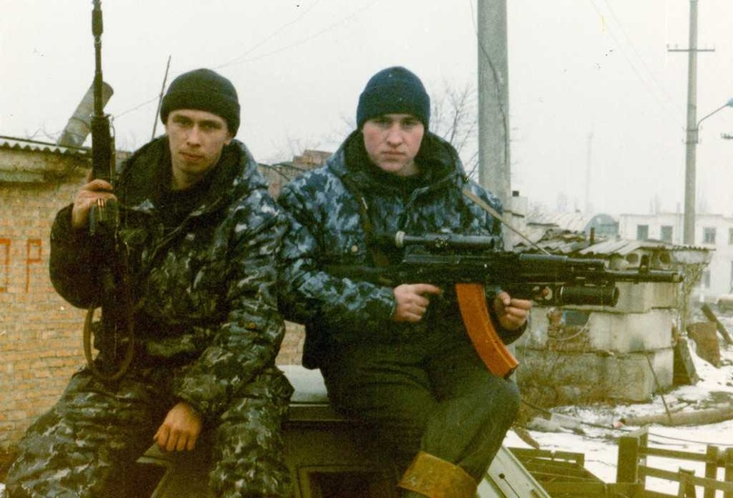 Первая чеченская война. Грозный. 13-й блокпост.