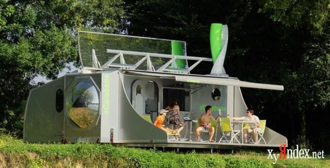 Передвижной и энергонезависимый дом будущего