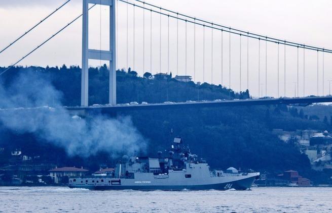 ВМС России срочно возвращаются в Средиземное море к берегам Сирии