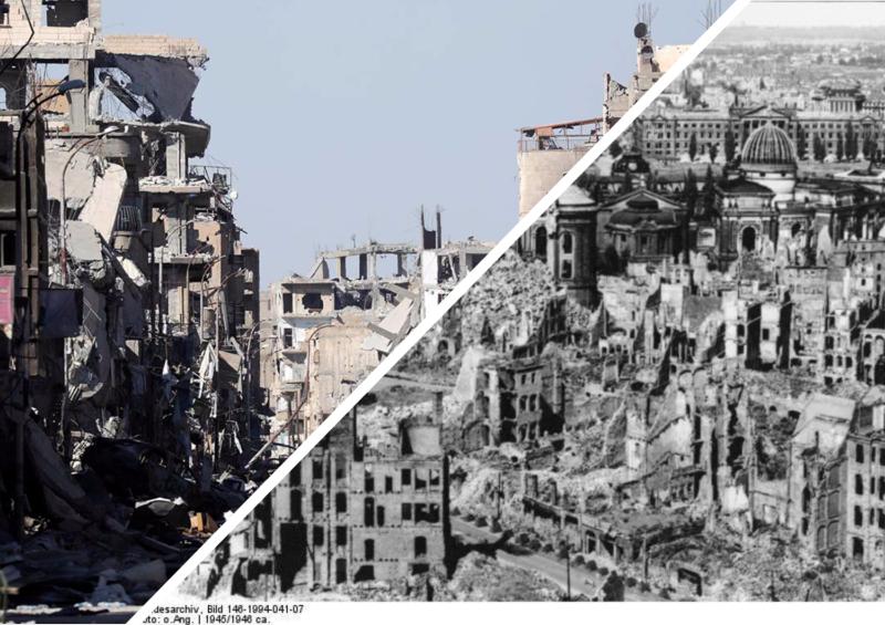 Варварские бомбардировки - важнейшая англосаксонская традиция