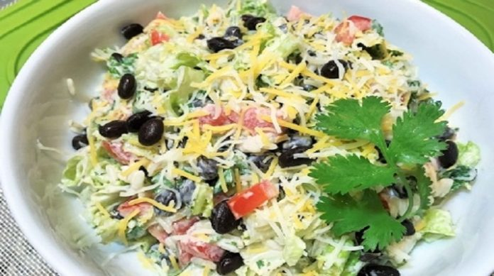 Обалденный вечерний салат «Вкусный ужин»