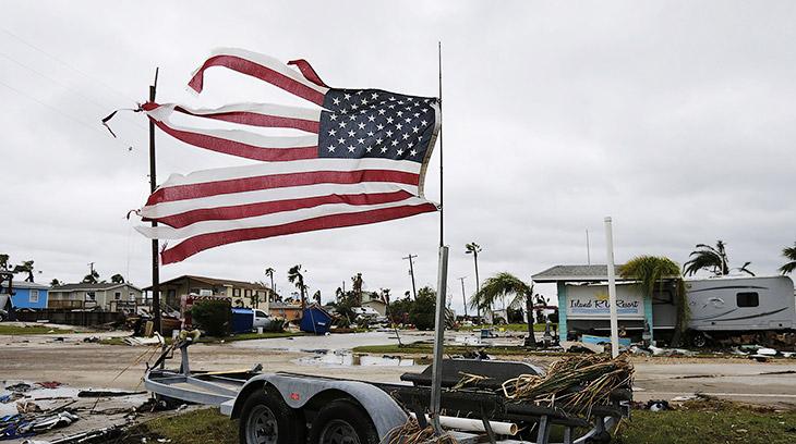 Самые дорогие ураганы в истории Америки