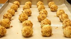 пошаговый фото-рецепт и видео рецепт Картофельные крокеты с орехами