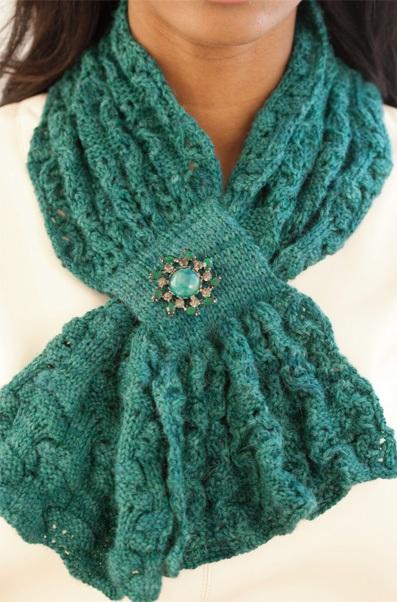 Вязание на спицах. шарфы