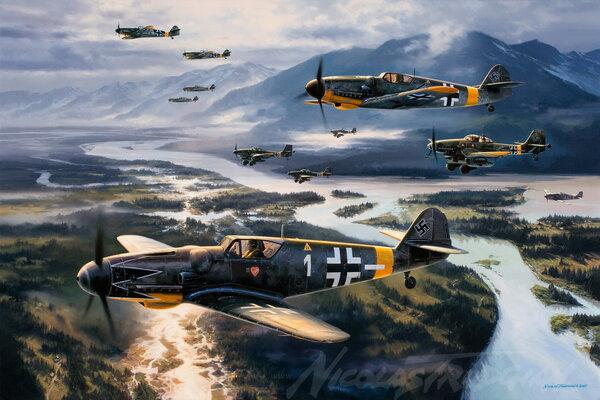Что стало с немецкой авиацией после войны