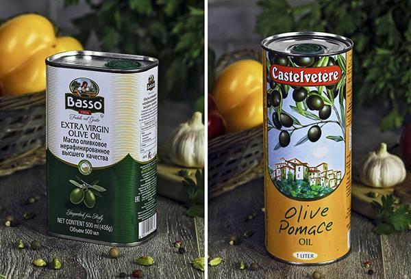 Оливковое масло в жестяных банках