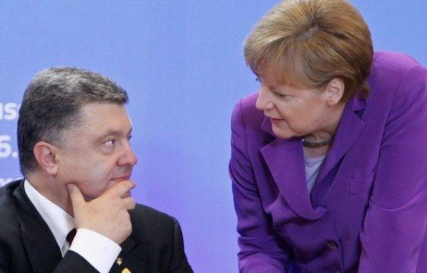 Меркель передала Порошенко «…