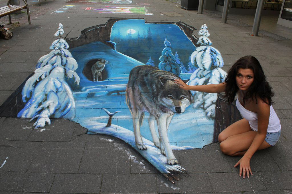 3d 5 Уличные 3D рисунки Николая Арндта