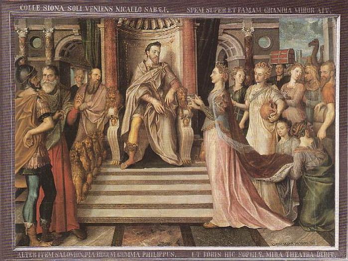 Три варианта легенды про Кольцо царя Соломона.