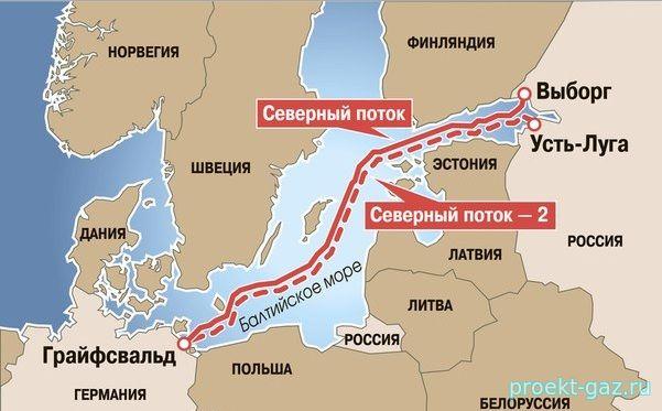 """Россия будет игнорировать мнение Польши по """"Северному потоку-2"""""""
