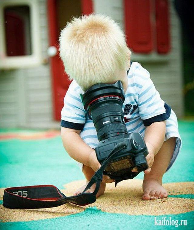 Прикольные дети (50 фото)