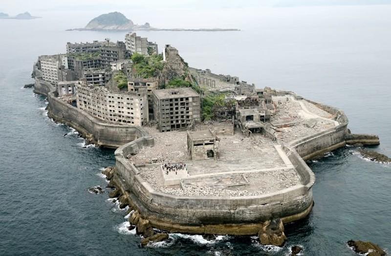 1. Остров Хасима, Япония загадка, земля, природа, явление
