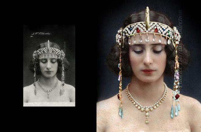 Красавицы царской России в колоризированных архивных фото
