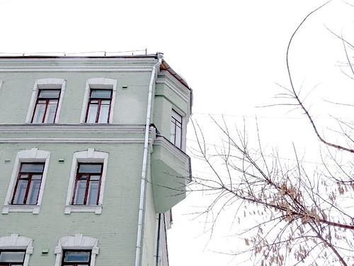Чудеса московской архитектуры: странной природы эркер