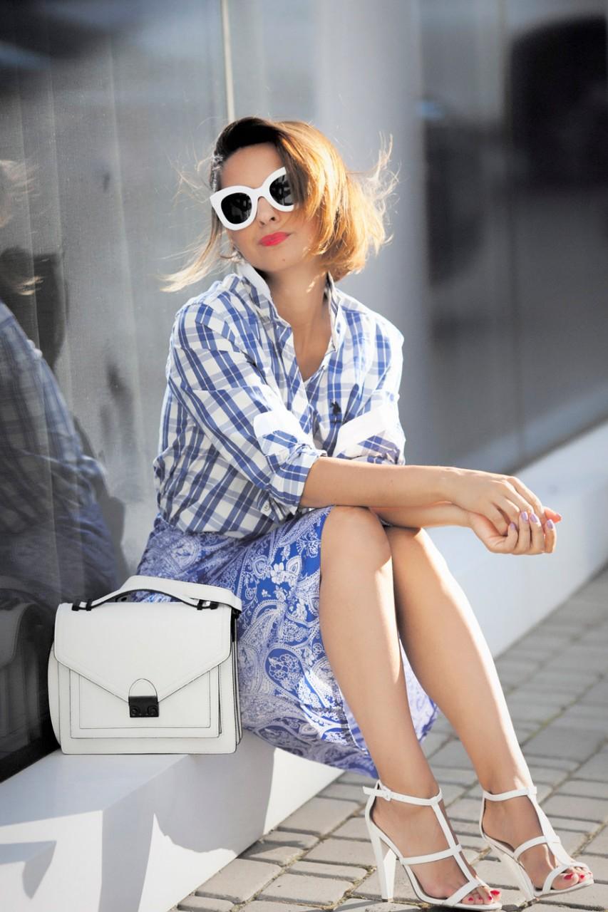 CÉLINE EYEWEAR Kim D-frame acetate sunglasses