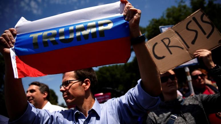 Трамп: Америка «разрывает себя на части» — Россия смеётся