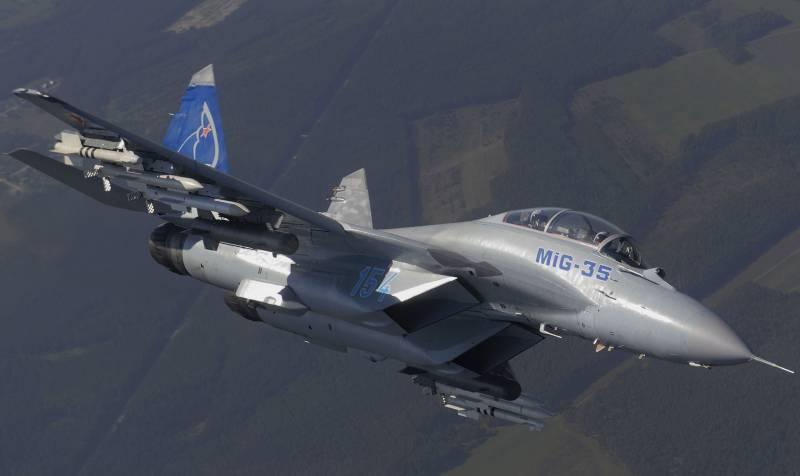 На что способен МиГ-35?