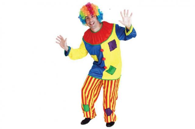 Представить клоуном