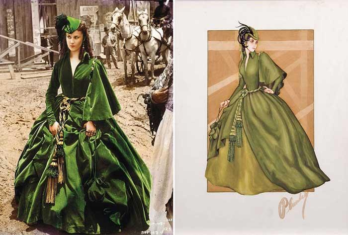 Знаменитые платья из фильмов, которые стали знаковыми в истории кинематографа