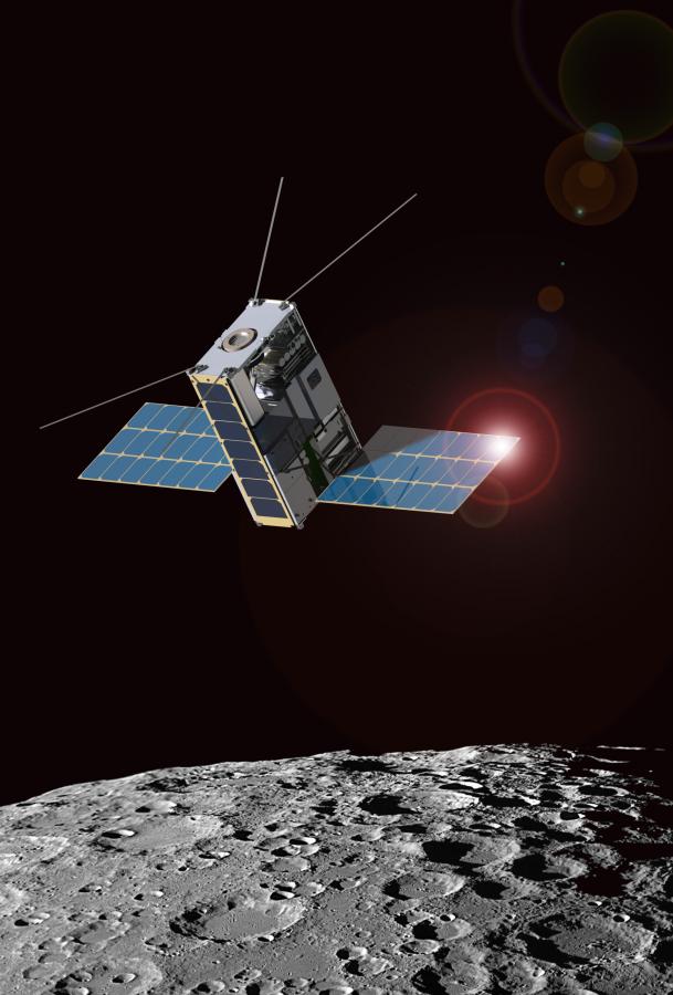 NASA разрабатывает проект по исследованию Луны с помощью связанных тросом спутников