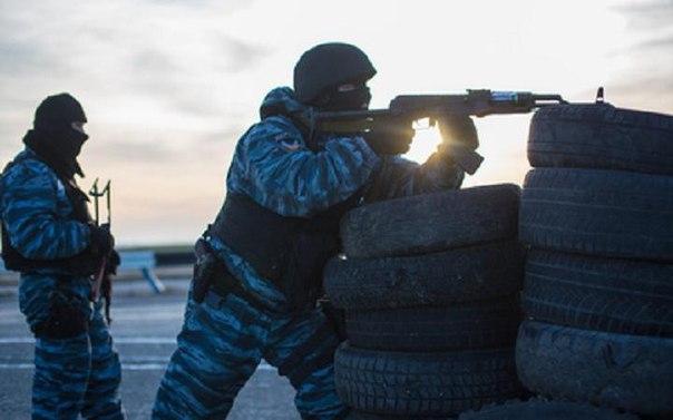 Военные АТО помогают ополчению в разгроме «Дебальцевского котла»