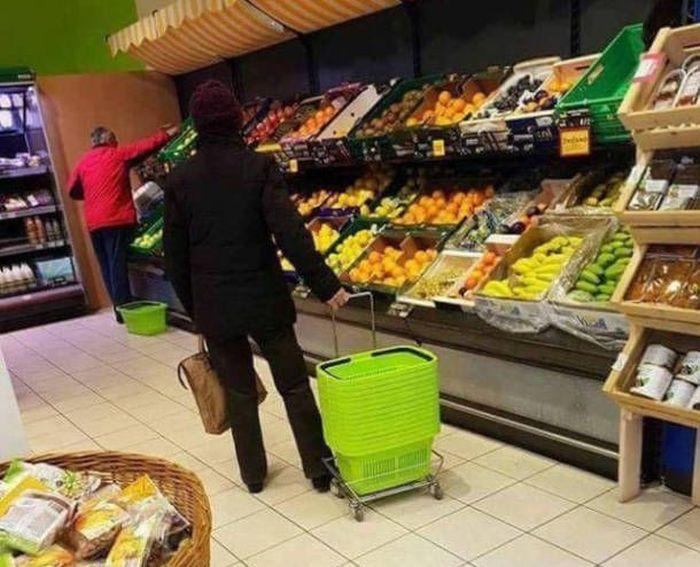 Веселые фото из супермаркетов