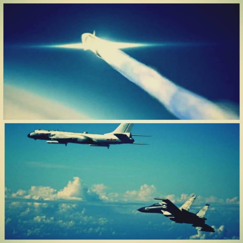 Противокорабельный «капкан» для флота США в АТР. В строй вступит стратегический воздушный «убийца АУГ» H-6N