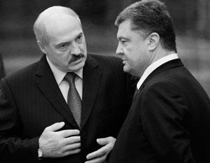 Лукашенко возложил на Порошенко ответственность за обострение в Донбассе