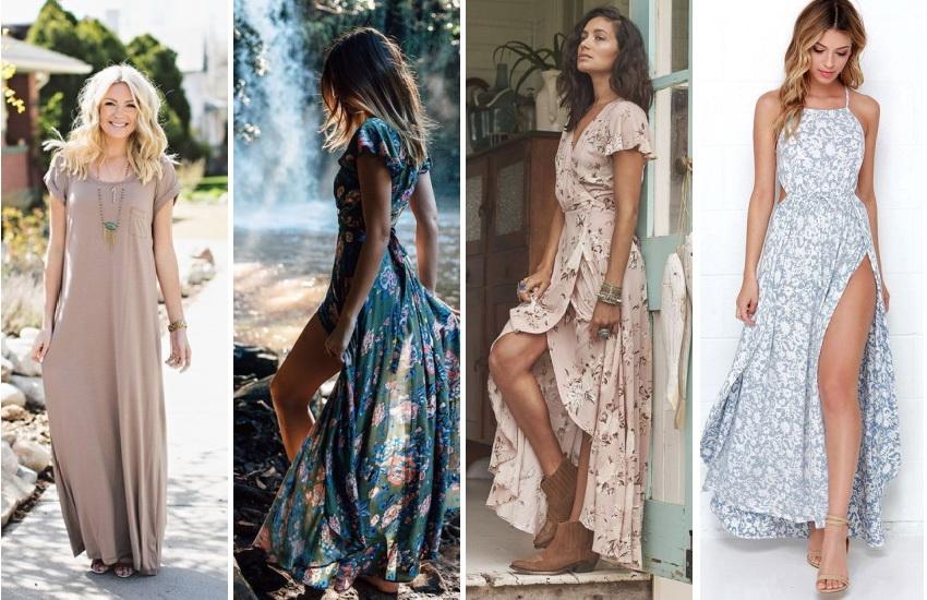 Как носить повседневное платье весной-летом 2017