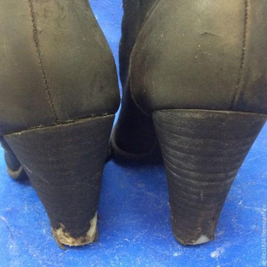 Не выкидывай любимую обувь! Реставрируем каблуки на любимых сапогах